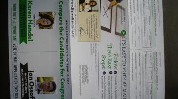 GA-6 Handel Campaign Flyer w/Absentee Ballot App